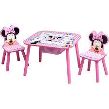 disney minnie mouse bedroom set with bonus toy organizer walmart com
