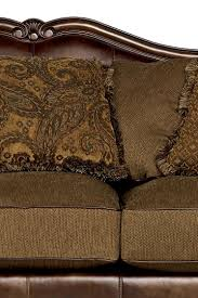 Claremore Sofa And Loveseat by Claremore Antique 84303 By Signature Design By Ashley Del