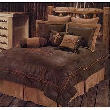 Western Rustic Country Praying Cowboy Comforter Cross Bedding Set 5pc King
