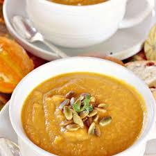 Pumpkin Butternut Squash Soup Vegan by Panera Bread U0027s Autumn Squash Soup Recipe By Mary M Key Ingredient