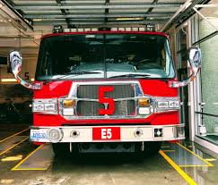 100 Fire Truck Red Red And Gray Fire Truck Parked Inside Building Photo Free