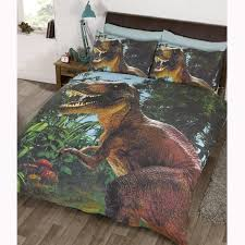 Minecraft Bedding Walmart by Jurassic T Rex Dinosaur Duvet Cover Sets In Single Or Double Size