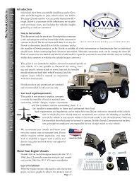 100 Novak Conversions Installing GM Generation III Engines In CJ Universal Jeeps