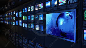 Video Background Animated Looping Virtual News For