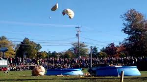 Damariscotta Pumpkin Festival by Second Pumpkin Dropped At The 2016 Damariscotta Pumpkinfest Youtube