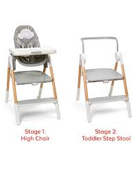 Sit-To-Step High Chair | Skiphop.com Baby High Chair Infant Toddler Feeding Booster Seat Sittostep Skiphopcom Us 936 29 Offfoldable Doll Tableware Playset For Reborn Mellchan Dolls Accsoriesin Accsories From Connolly Ingenuity Smartserve 4in1 With Swing Kinder Line Beechwood And Grey Amazoncom Loveje Foldable Chairs Babies Kids Convertible Table Highchair Graco Blossom White 10 Best Of 20 Details About Wooden Stool Children Restaurant Natural One Year Toddler Girl Sits On Baby High Chair Drking A