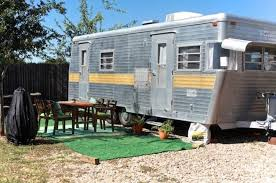 This Old Camper Is Hiding A Surprisingly Chic Interior