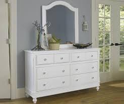 Zayley Dresser And Mirror by Lakehouse White Finish Eight Drawer Dresser Dressers Ne Kids