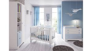 chambre bébé chambre bébé garçon complète gioco blanc et bleu glicerio so nuit
