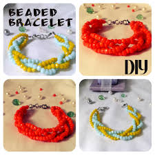 TutorialDIYhow To Make Easy Beaded Bracelet