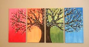 Diy Wall Art Painting Ideas Simple Easy Photo Canvas