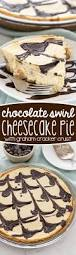 Pumpkin Marble Cheesecake Chocolate by Chocolate Swirl Cheesecake Pie Crazy For Crust