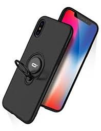 iPhone X Case iPhone 10 Case With Ring Holder Kickstand 360°Adjustable Ring