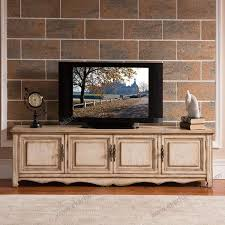 Living Room White Wash Teak Wood Simple Antique Shabby Chic Image Fancy Tv Cabinet Design Furniture