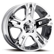100 Chrome Truck Wheels Ultra Maverick 235C 17x8 6x55 6x1397 10 2357883C