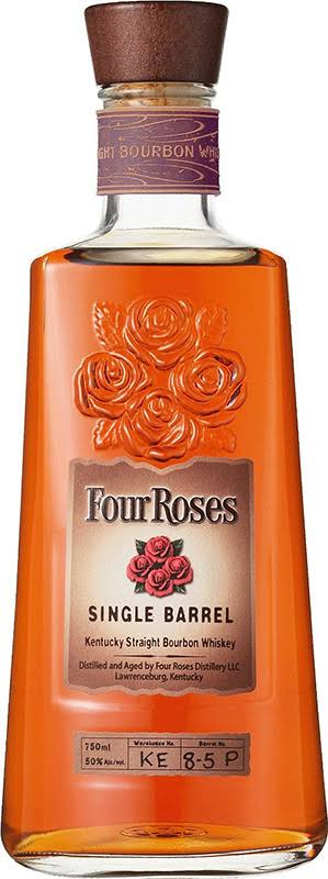 Four Roses Whiskey, Kentucky Straight Bourbon, Single Barrel - 750 ml