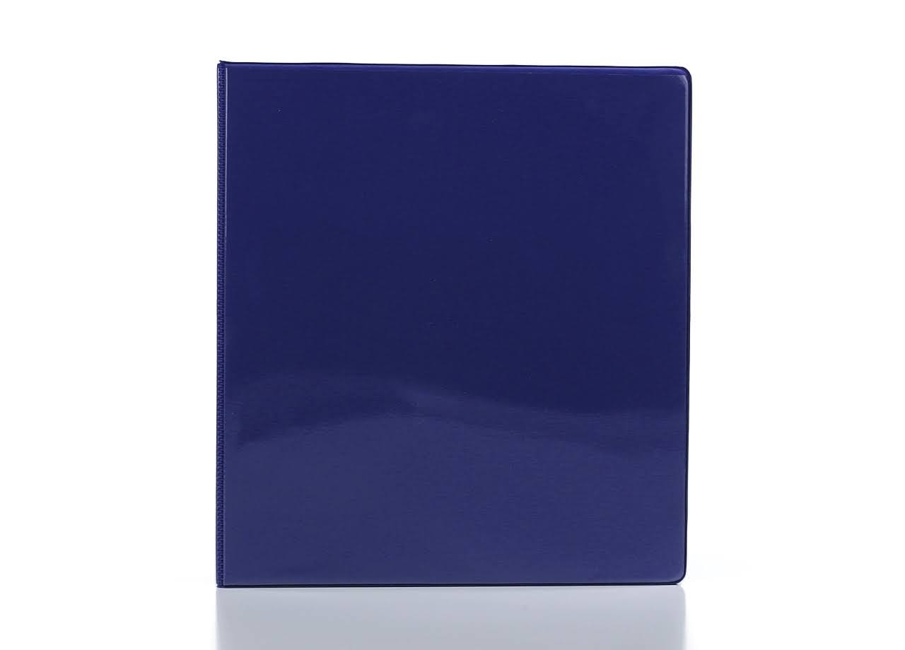 Bazic 3-Ring View Binder - Blue