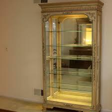 Jasper Cabinet Company Secretary Desk by Jasper Cabinet Company Lighted Curio Cabinet Ebth
