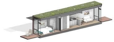 100 Homes Shipping Containers Container Micro Homes With Green Roofs Planned For