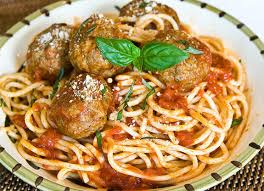 Spaghetti and Meatballs ce Upon a Chef