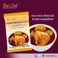 national cuisine of chicken massamun curry food shop detail