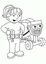 Related Clip Arts Bob The Builder Coloring Pages Download And Print