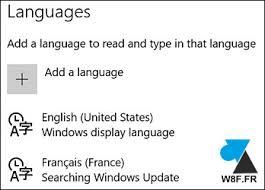 bureau de change en anglais windows 10 changer la langue du système windowsfacile fr