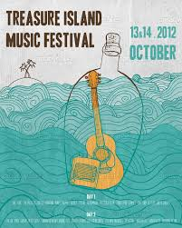 Treasure Island Music Festival Poster By Disegnolo On CreativeAllies