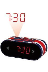 reveil heure au plafond radio réveil dcybel 4233352 darty