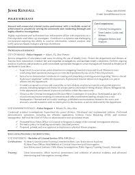 Law Enforcement Supervisor Resume Examples With Sample Resume Law