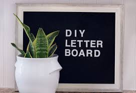 How To Make A Felt Letter Board For Under 10