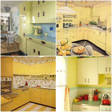 Taste The Rainbow Vintage Kitchens Of Every Shade