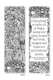 Alternative View 4 Of Spring Garden Coloring Bookmarks