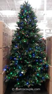 Pre Lit Christmas Trees Costco Tree Replacement Bulbs 9 Ft Led