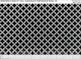Decorative Sheet Metal Banding by Mcnichols Quality Decorative Perforated 20 Gauge Plain Steel