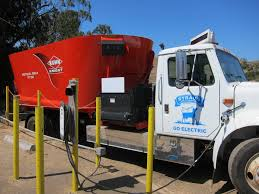 100 Feed Truck PoopPowered Electric Debuts At Northern California