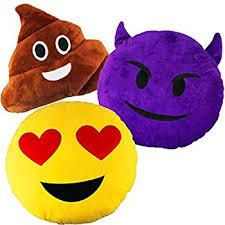 Amazon Joyin Toy 3 Pack of 32cm 13 Inches Emoji Smiley