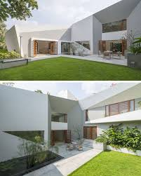 The Design Of This Modern House Features A Very Angular Exterior ... Historic 648 House In The Heart Of Homeaway East Side Garden Ideas Edmton Interior Design Landscaping For Backyard Of The Ipirations Sloped Swimming Pool Designs Cool Amenity Backyard View House Orilla Del Rio Santa Bbara Down To Earth Mentone Rent Gallery And Patio Low Maintenance Plants Flowers Front Best 25 Fenced Ideas On Pinterest Curb Appeal Wikipedia 17 Chris And Peyton Lambton