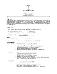 Career Objective Examples Medical Receptionist For Resume Resumes