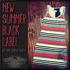 love it harley davidson summer black label knit tank dress i