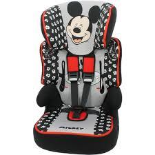 siege auto 123 pas cher siège auto enfant groupe 1 2 3 gris mickey beline disney