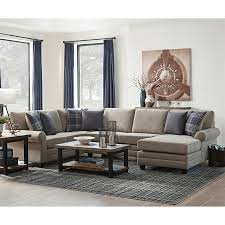 Dark Brown Leather Couch Living Room Ideas by What Color Walls Go With Brown Furniture Dark Brown Couch Living