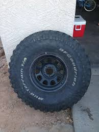 One 35 Inch Mud Terrain With Steelie Oversize Tire Testing Bfgoodrich Allterrain Ta Ko2 35 Inch Tires For 15 Rims In Metric Pics Of 35s Tire On Factory 22 Gm Rims Wheels Tpms Truck And 2015 Lariat Inch Tires 2ready Lift Kit 4 Lift Vs Stock With Arculation Offroading New And My Jlu Sport 2018 Jeep Wrangler Interco Super Swamper Ltb We Finance No Credit Check Picture Request Include Wheel Size Ih8mud Forum Mud Set Michigan Sportsman Online Hunting Flordelamarfilm