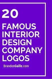 100 Interior Designers Logos 20 Famous Design Company Design