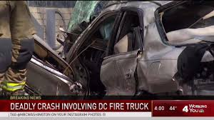 1 Dead In DC Crash Involving Fire Truck - NBC4 Washington One Dead After Collision With Fire Truck On Highway 427 Exit Ramp Surveillance Video Shows Miami Crash Update Car Vs Fire Truck Accident Cleared Driver In Fatal Arrested The San Diego Union Involved Northwest Bakersfield Accident Airport Politicsbm Injuries Reported Volving Minivan Driver Killed 4 Pladelphia Law Wire News December 2015 2 Firetrucks Collide Sending 8 Refighters To Hospital Damaging Clarksville Police Report Woman Crashes Into At Scene