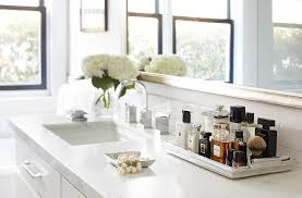 Innovative Perfume Tray In Bathroom Transitional With Display Next To Martha Stewart Vanity Alongside Silver