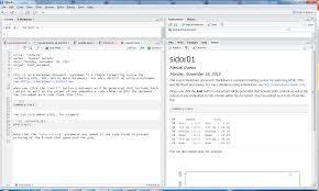 Dynamic Documents for R using R Markdown