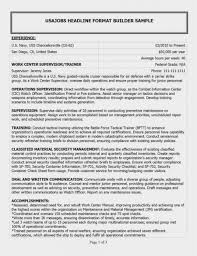 Federal Resume Example Lovely 12 Federal Resumes 12 – Radio-viva ... Federal Resume Example Platformeco Environmental Services Resume Sample Inspirational Federal Usajobs Gov Valid Builder Unique Difference Between Contractor It Specialist And Template 2016 Junior Example Elegant Examples For 2015 Netteforda Format For Fresh Graduate Ut Impressive Part 116 Mplate High School Students Free 61 Government