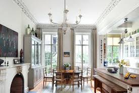 French Doors In Dining Room Skinny Traditional Into Dc Metro