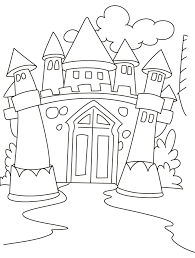 Colouring Pages Castle Coloring New On Concept Free Kids